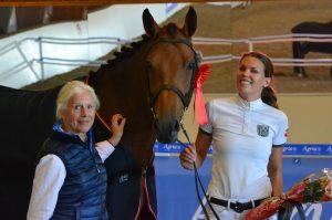 Agria best presenterte hest region 2 2015; Charming Girl II