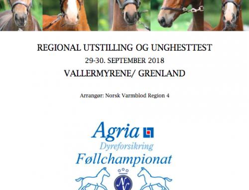 Utstillingskatalog og tidsskjema – Vallermyrene – 29.-30. September