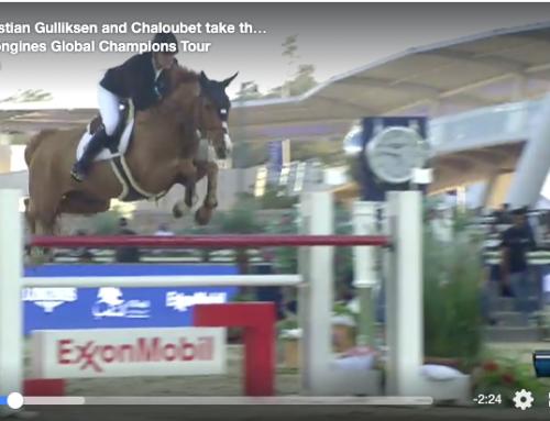 Chaloubet vinner av 145 cm under LGCT Doha